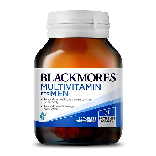 Blackmores Multivitamins For Men 50 Tabs (₱30.28/Tab)-EXP May2024