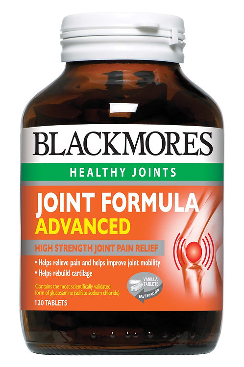 Blackmores Joint Formula Advanced 120 Tablets (₱31.40/Tab)-EXP Aug 2020