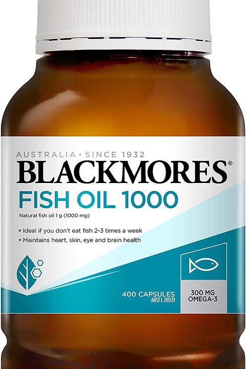 Blackmores Odourless Fish Oil 400 Capsules (₱6.31/Cap) EXP Jun 2023