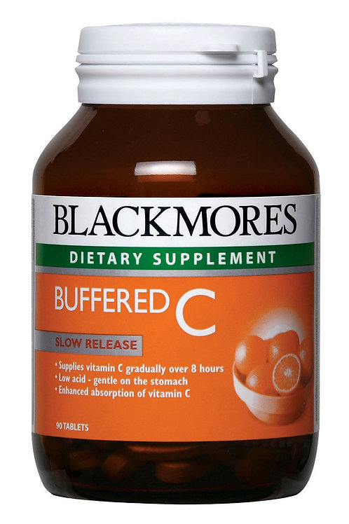 Blackmores Buffered C 90 Tablets (₱16.28/Tab) - EXP Apr 2020