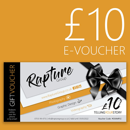 £10 Gift E-Voucher