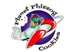 Phizzog Cookies Logo - White Background.