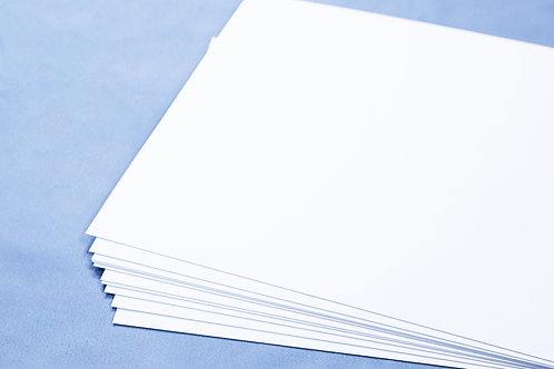 20 Sheets pack of White Card
