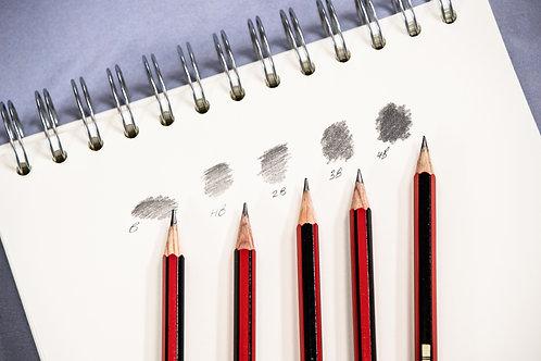 Graded Pencils Set