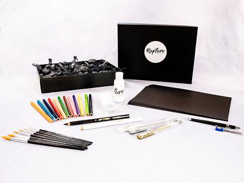 Medium Black Paper Art Gift Pack