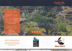 Simple Life Leaflet - Front