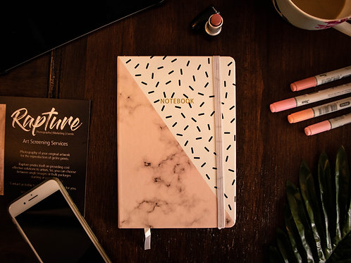 Marble Collection Pink Journal