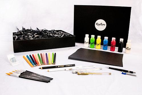 Large Black Paper Art Gift Pack
