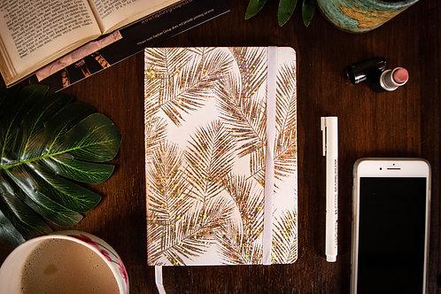 Caribbean Collection Ferns Gold Journal