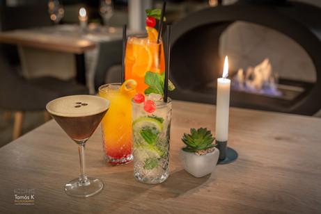 Cocktails im Stadtzentrum von Budapest