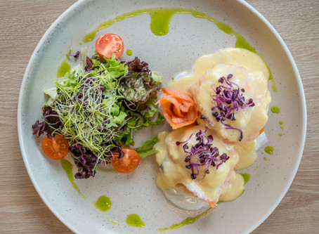 Eggs Royale - a classic for brunch