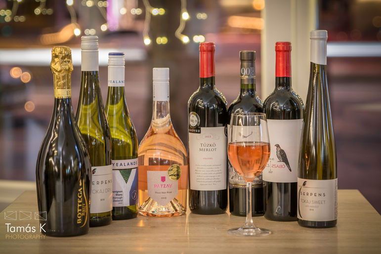 Magyar és nemzetközi borok
