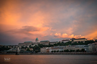 Budapest by sunset