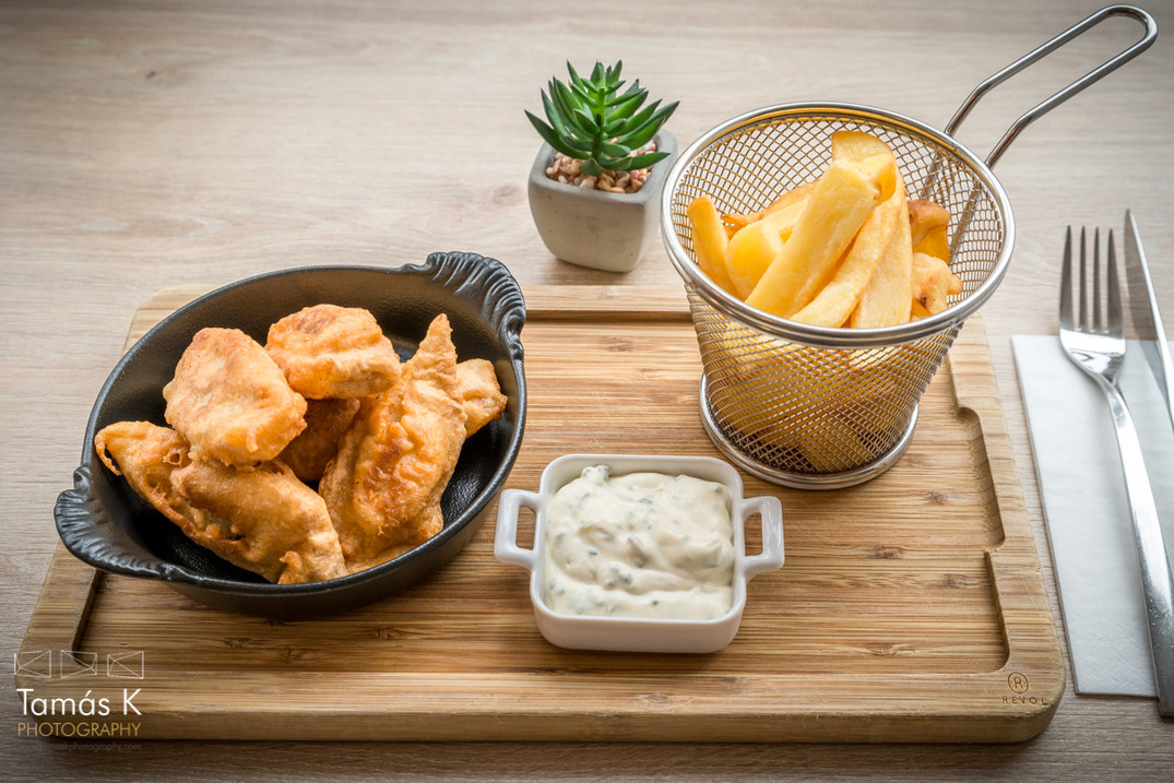 Fish & Chips Remoulade sauce