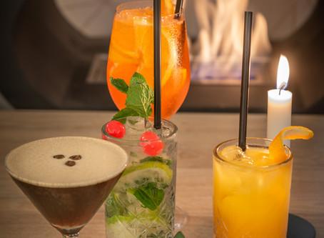 Cocktails at Brunch Bistro