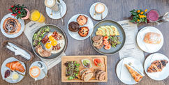 Cafe Brunch Budapest - reggeli a város szív