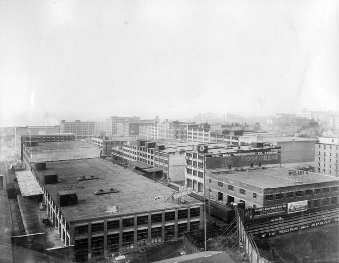耶魯鎮 Yaletown 的發展足跡