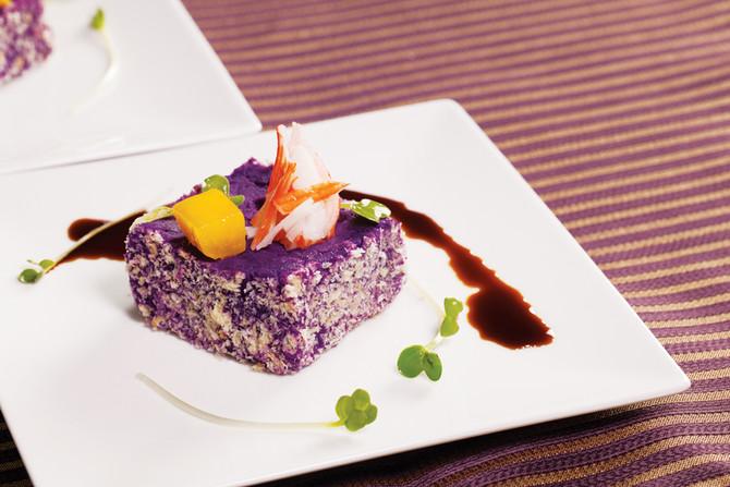 萬紫奶酥香 Purple souffles