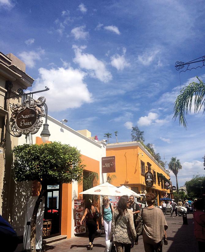 Tlaquepaque 特拉克帕克   讓樹穿上花裙子的小鎮