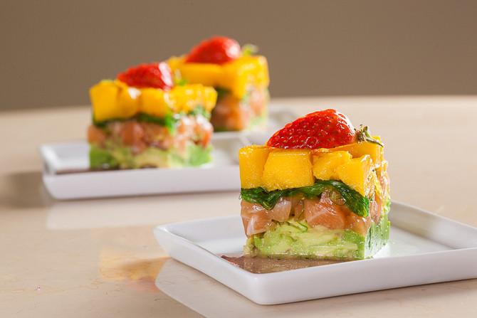 三文魚沙拉千層塔 Seasonal Salmon Salad Sandwich