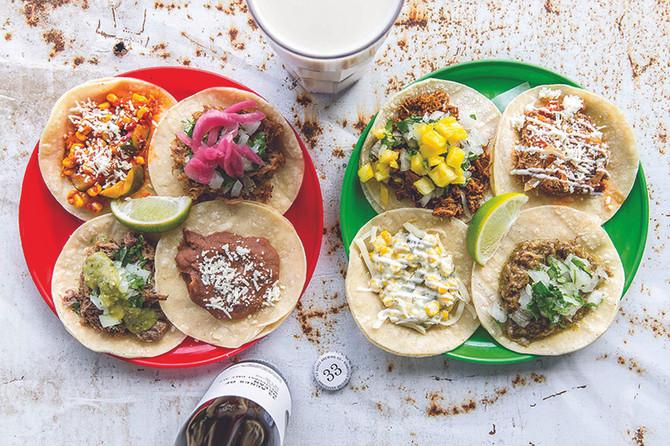 真正墨西哥的街頭美味 La Taqueria