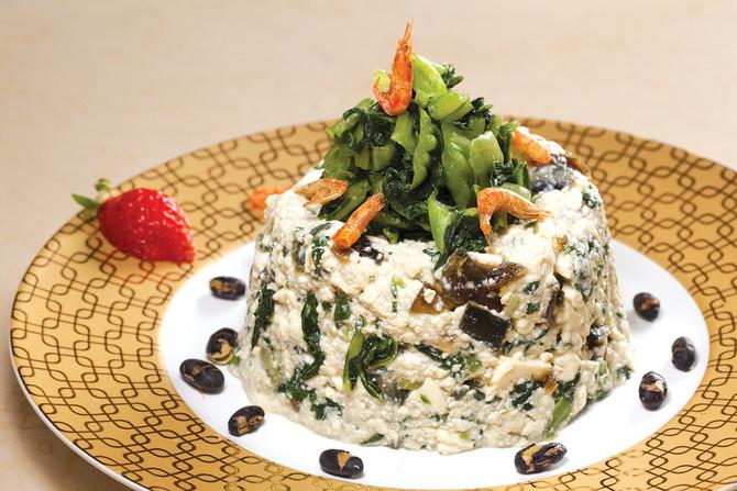 雪菜馬瑙豆腐