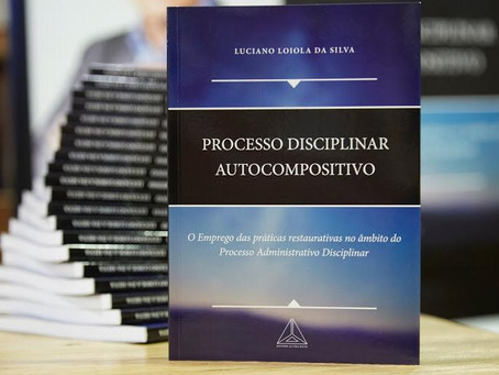 """Lançamento da obra """"Processo Administrativo Disciplinar""""."""