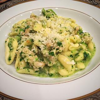 Cavatelli with Broccoli Raab Pesto