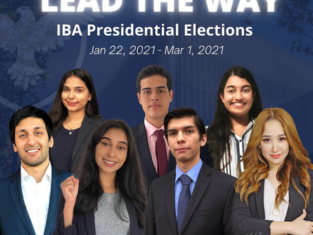 IBA Presidential Elections: Role Recap