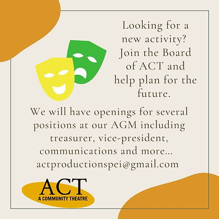 Looking for new activity Join the Board