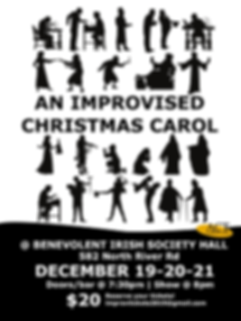 Improvised Christmas Carol w ticket pric