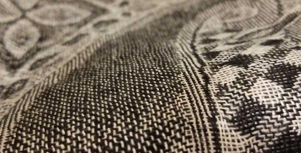Pashmina Scarf - Black/Grey