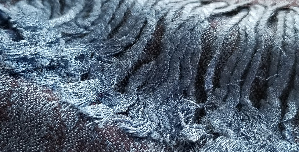 Blue Pashima Scarf