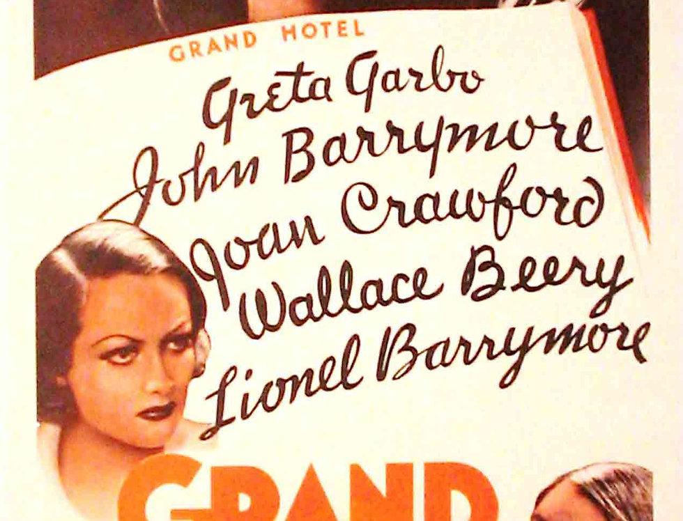 Grand Hotel 1932 (Re-release 1962)