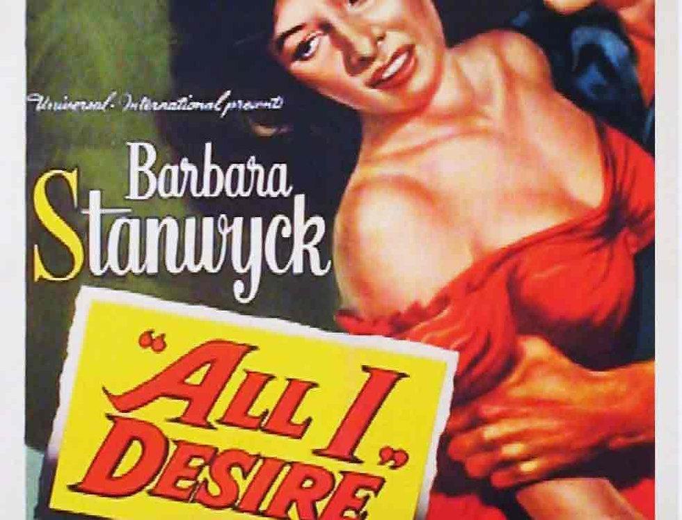 All I Desire (1952)