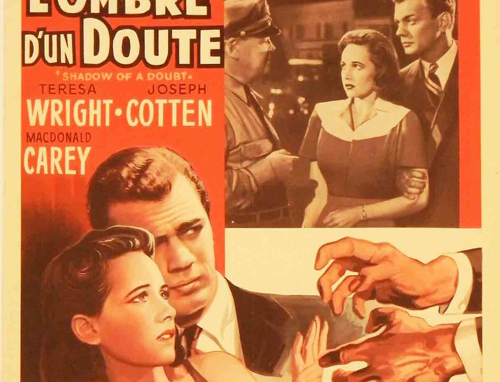 Shadow of a Doubt 1943 (Re-release 1950s))