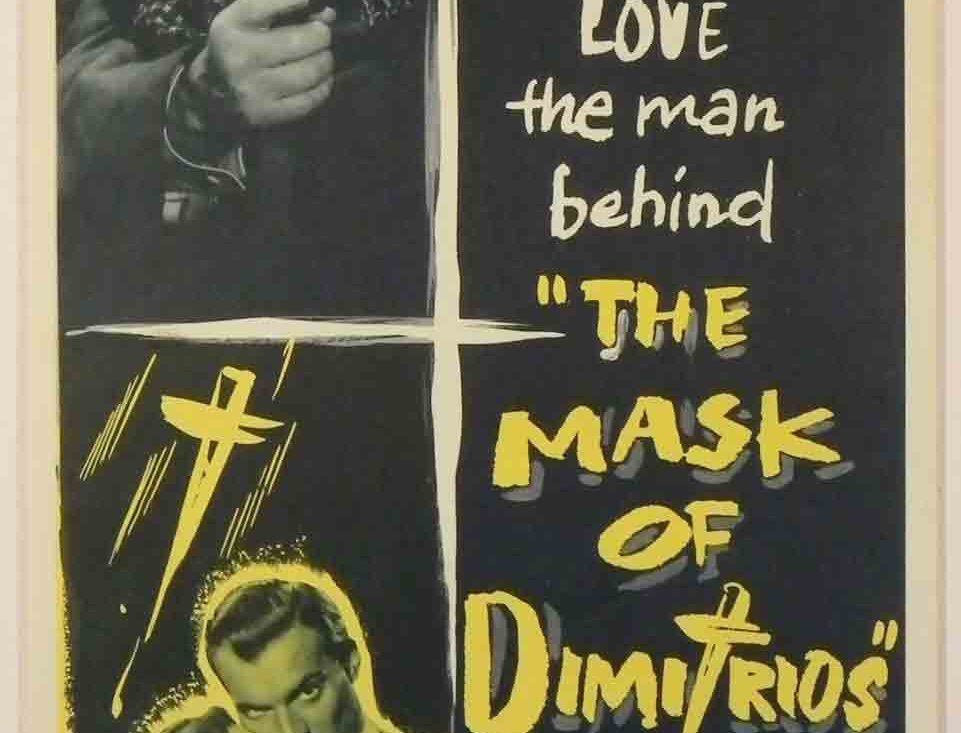 Mask of Dimitrios, The 1944 (Re-release 1956)