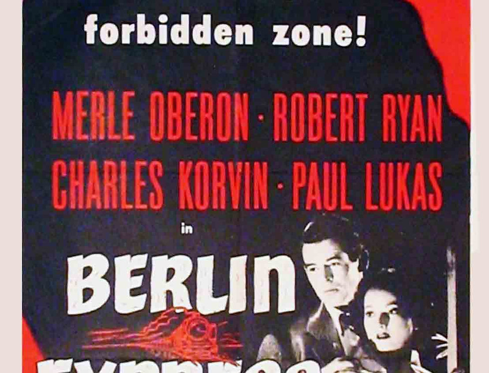 Berlin Express 1948 (Re-release 1955)