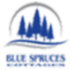 Blue Spruces Cottages logo