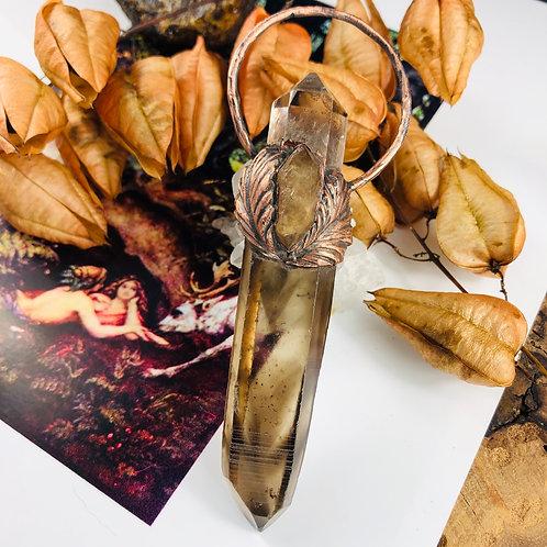 Starseed Sallee~Smoky Phantom Quartz/Herkimer Diamond & Golden Healer w/Trigonic