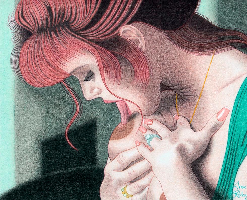 Mujer en su intimdad II