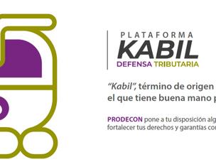 PRODECON LANZA PLATAFORMA KABIL PARA FORTALECER LA DEFENSA TRIBUTARIA.