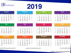 Días Festivos 2019