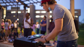 For This Year's Students, Live Music Has Moved Outdoors