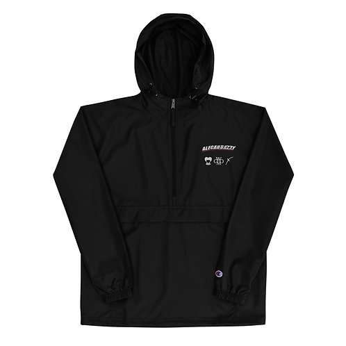 Alecarbazzy Embroidered Champion Packable Jacket