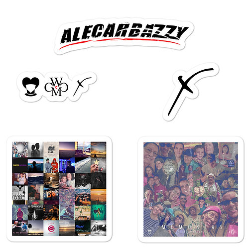 Alecarbazzy Stickers