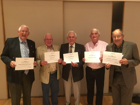 One Hundred and Sixty Five years Rotary Service