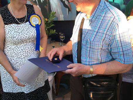Long serving Rotarian honoured