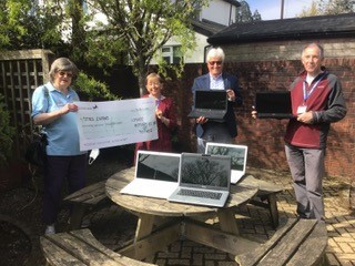 Totnes Rotary Laptop project supporting Totnes Caring.