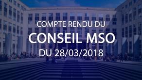 Conseil MSO du 28.03.2019